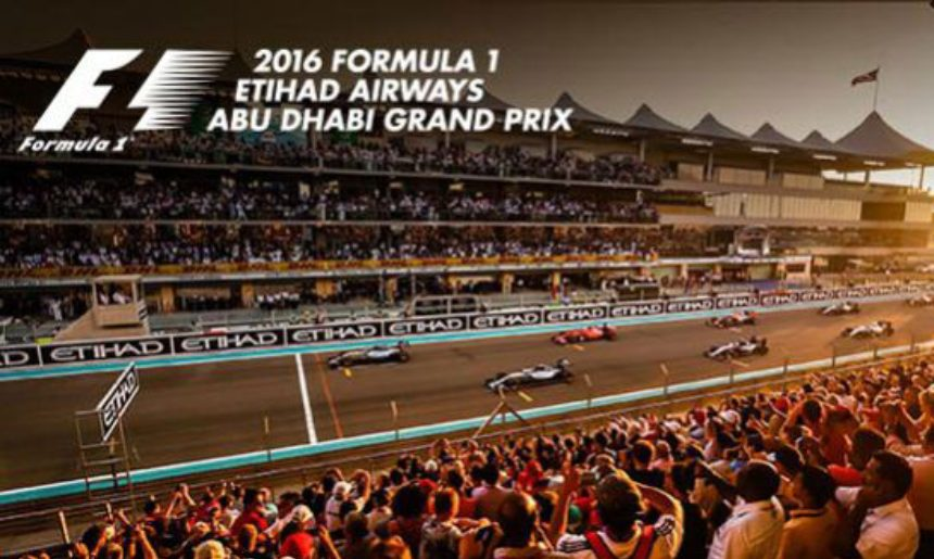 Basatin takes part in the Abu Dhabi F1 event.